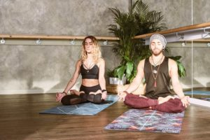 Practice-Sukhasana-for-improvement-of-mental-physical-worries